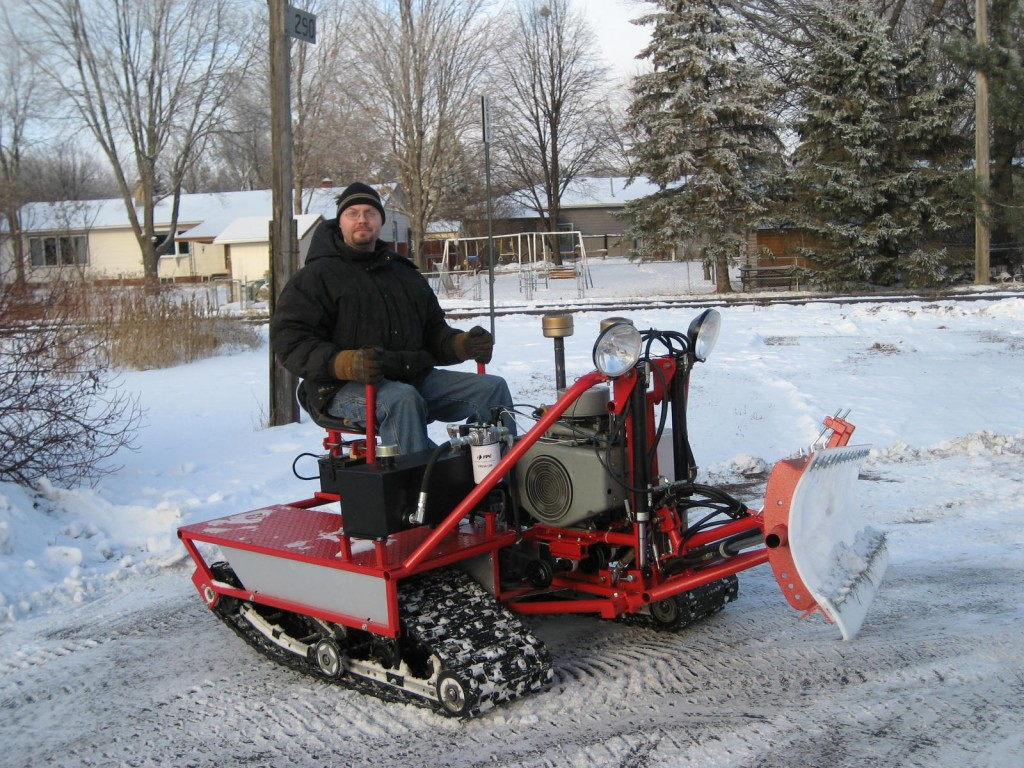 Custom Built Snow Dozer