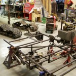 Steel frame continued
