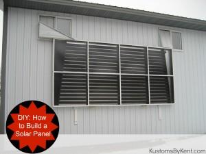 DIY Solar Panel