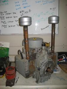 Kohler 17-hp 2-cylinder engine