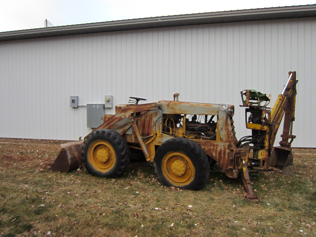 Michigan 55AG Payloader
