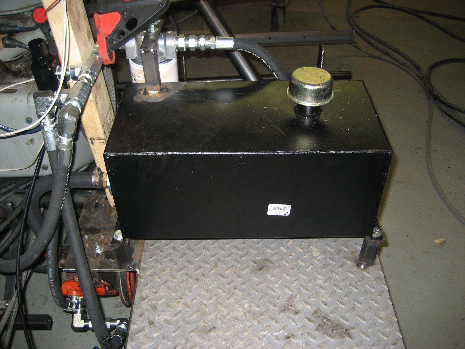 Completed hydraulic system