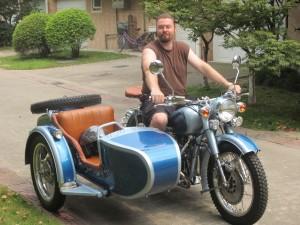 Chang Jiang 750 sidecar motorcycle