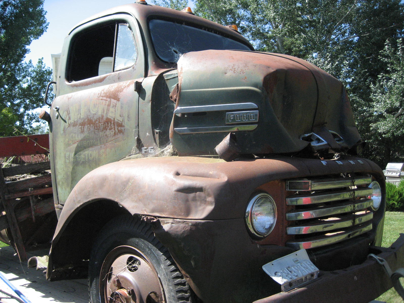 Ford F6 COE truck (sold) - Kustoms by Kent