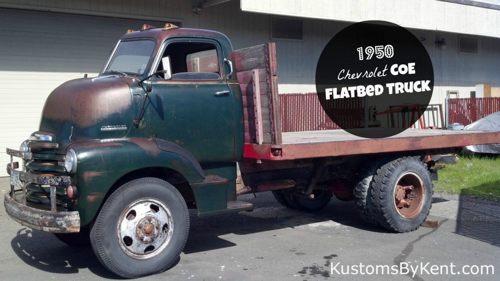 1950 Chevrolet Coe Flatbed Truck Kustoms By Kent
