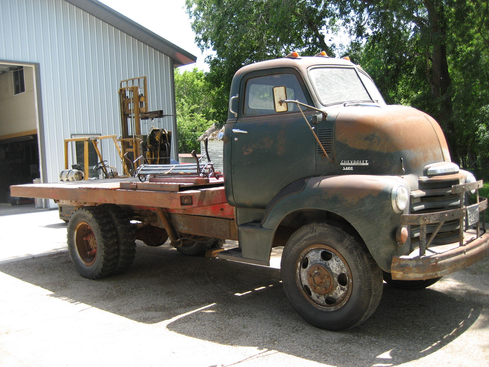 57 Chevy Coe For Sale | Autos Weblog
