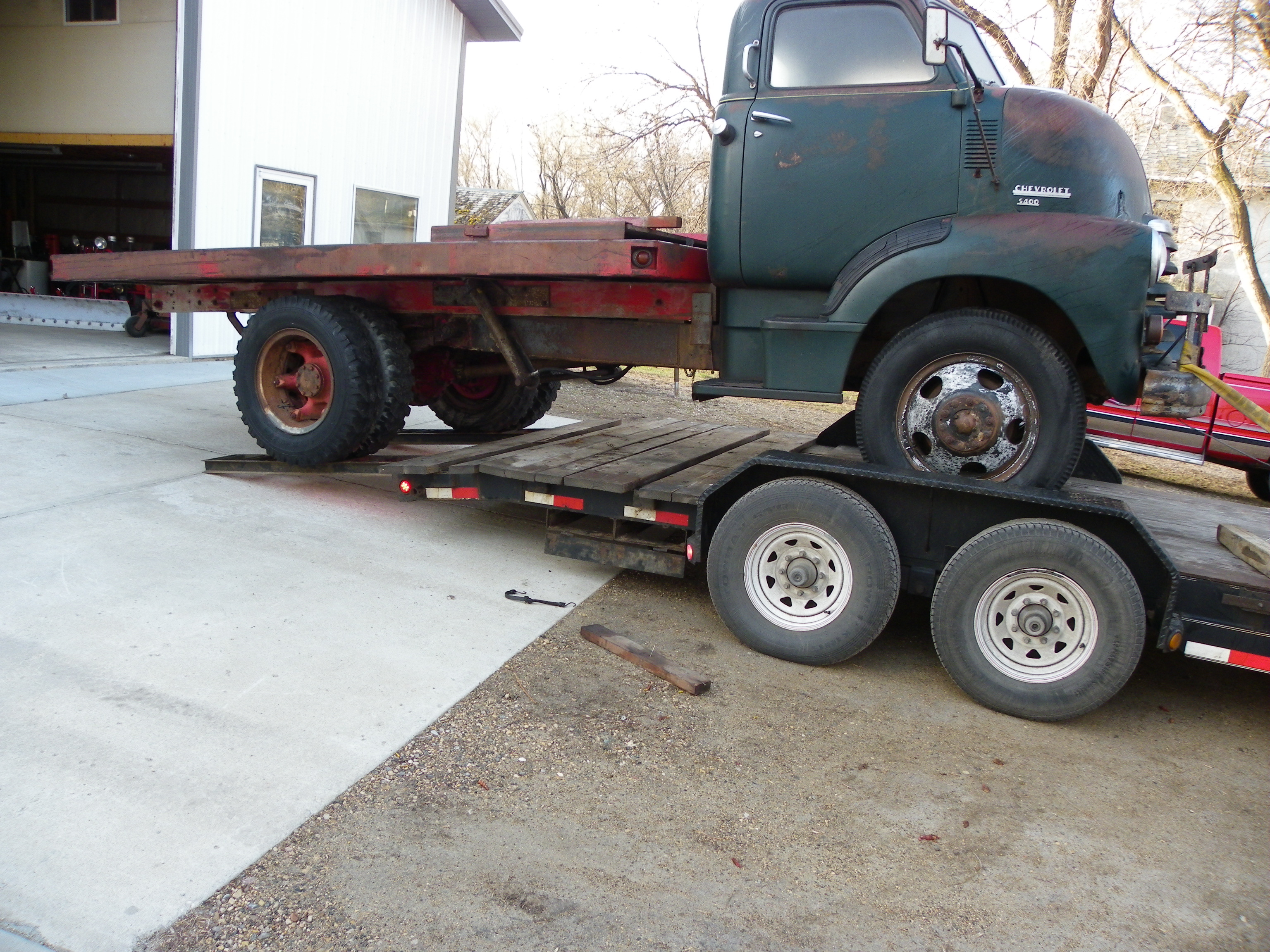 1950 Chevrolet COE Flatbed Truck - Kustoms by Kent