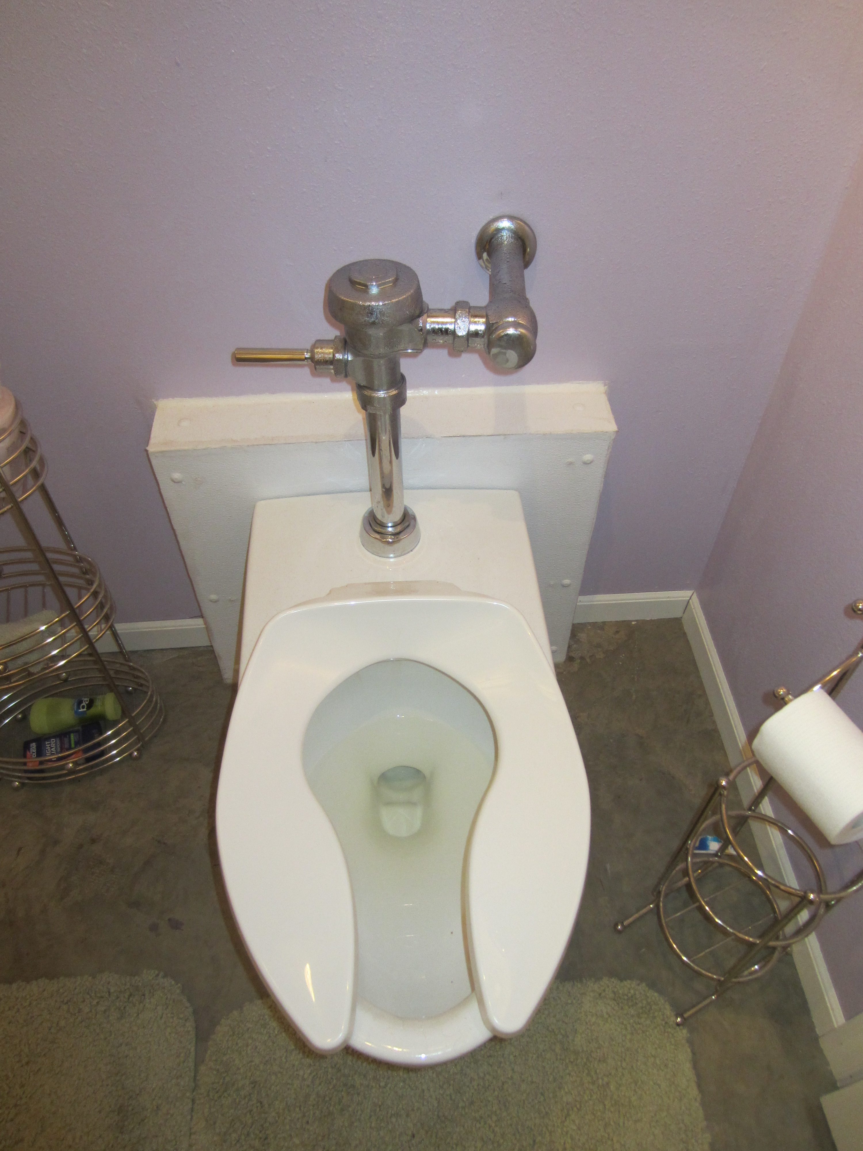 Commercial Toilets : DIY: Making a Commercial Toilet work with Residential plumbing ...