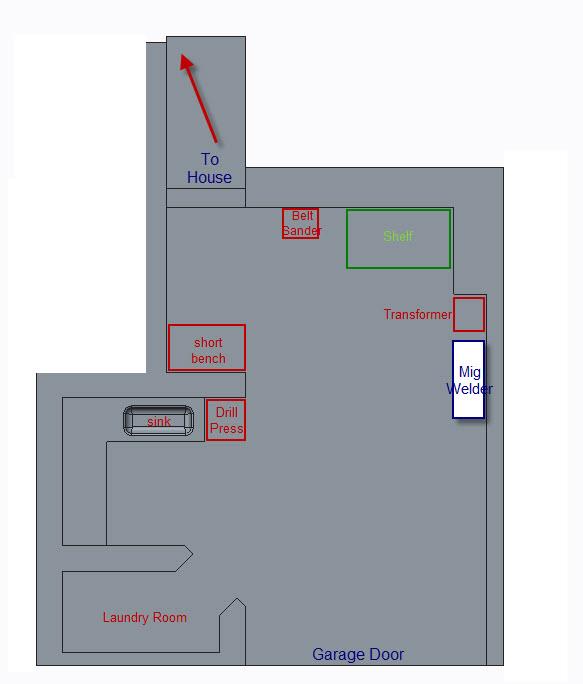China Garage layout