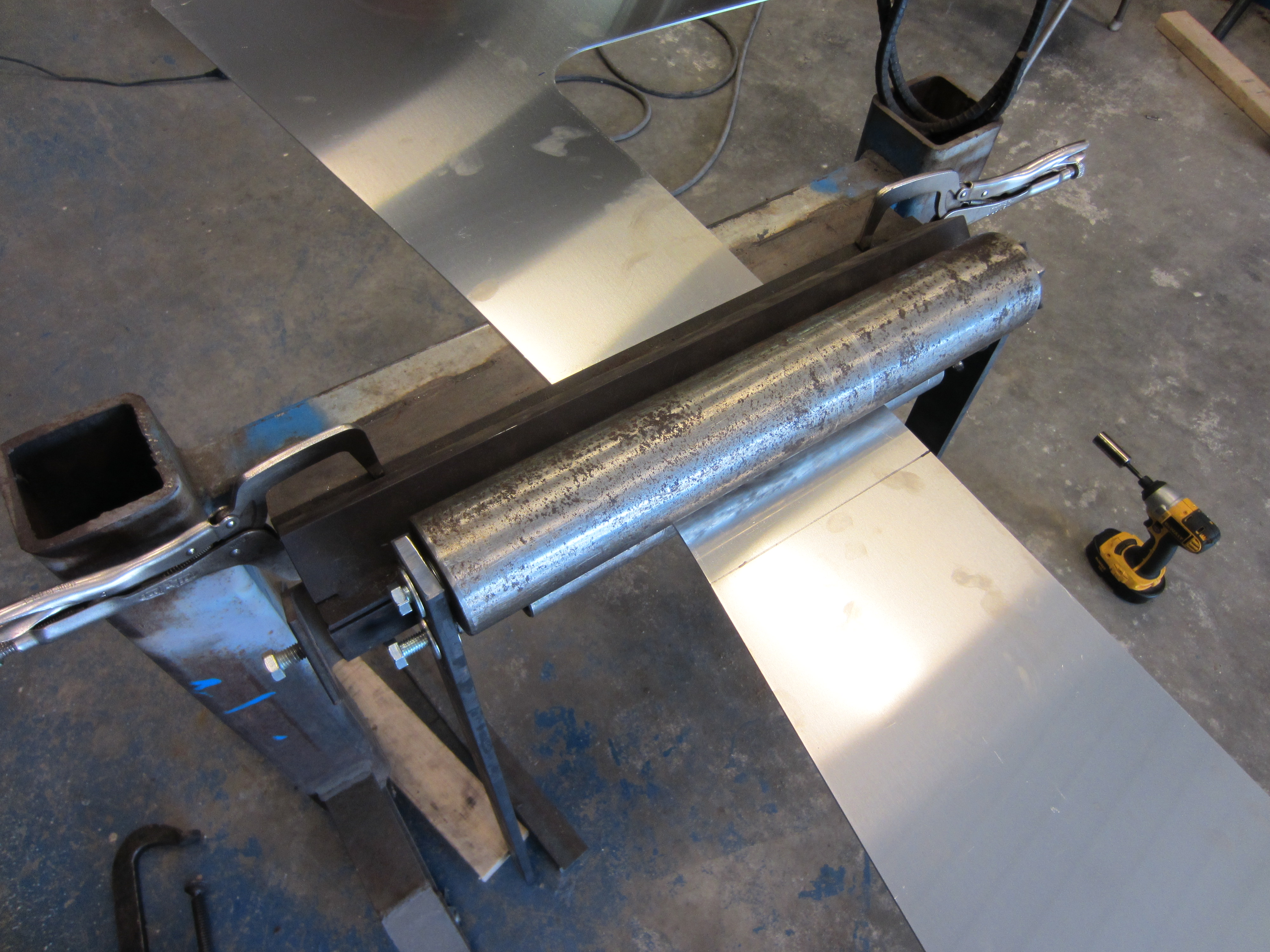 Metal Projects To Build : Sheet metal diy projects do it your self
