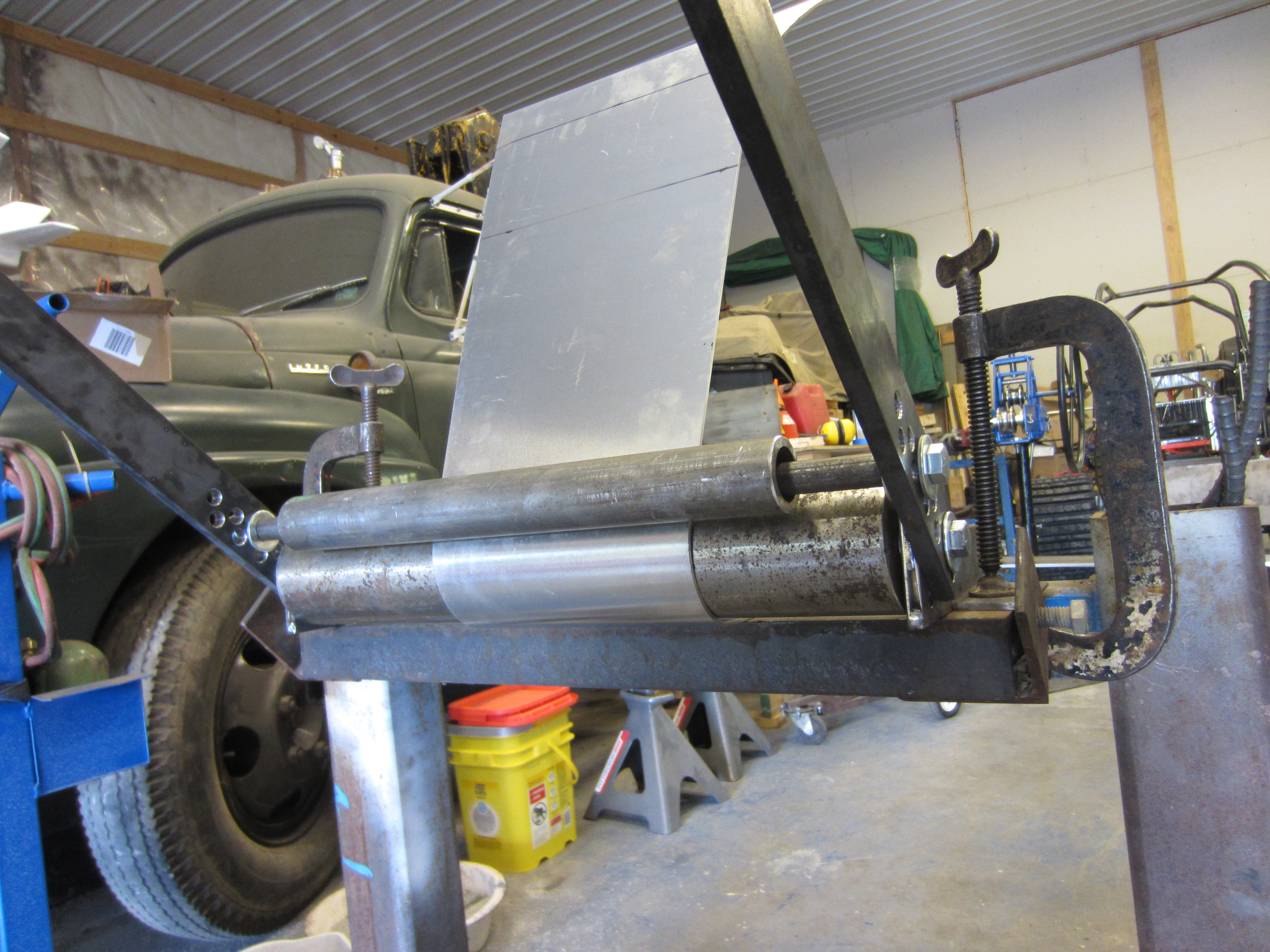 Diy Sheet Metal Rolling Brake Table Kustoms By Kent